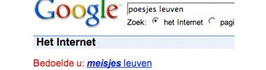 Google zoekt echt overal iets achter