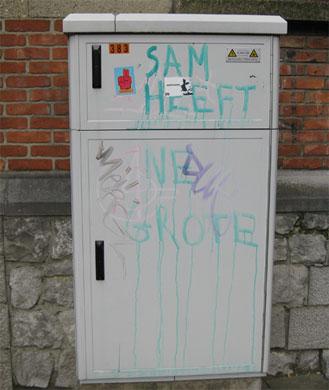 Sam heeft ne grote