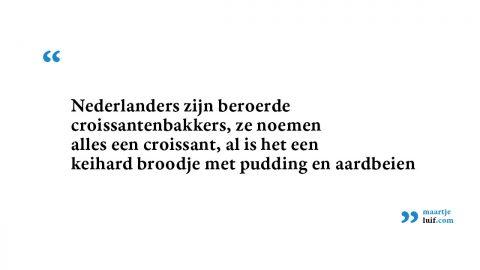 België-Nederland: croissants