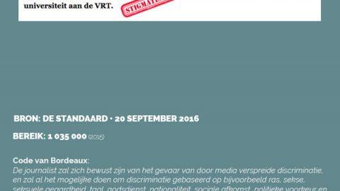 De Standaard • 20 september 2016