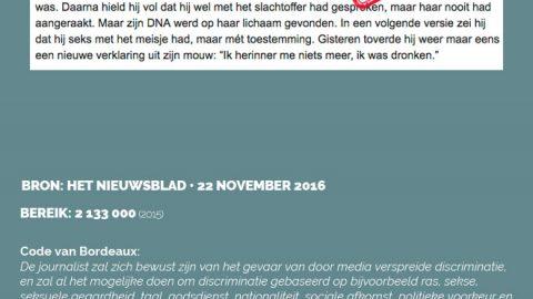 Het Nieuwsblad • 22 november 2016
